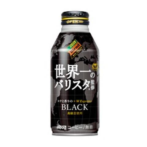 世界一のバリスタ監修-BLACK400g  県内配送料無料!(1箱24缶セット-税抜き価格:2,760円)
