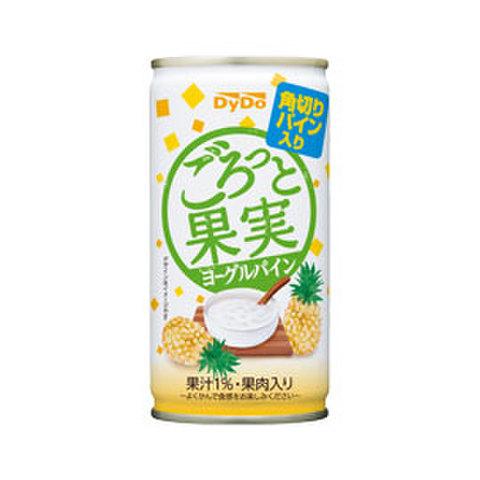 ごろっと果実ヨーグルパイン 185g 県内配送料無料!(1箱30缶セット-税抜き価格:2,850円)