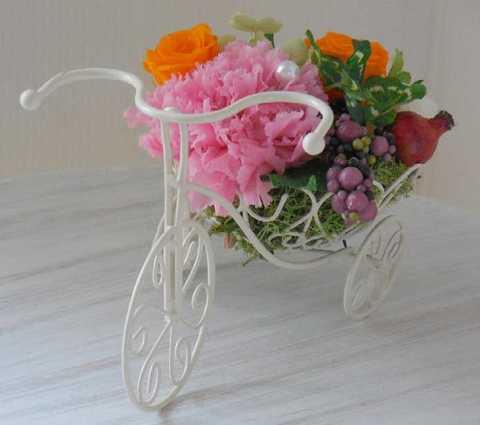 花かご三輪車