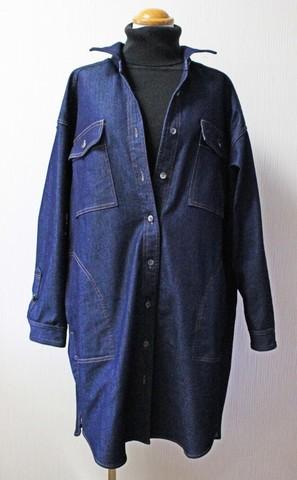 博多織×デニム コート