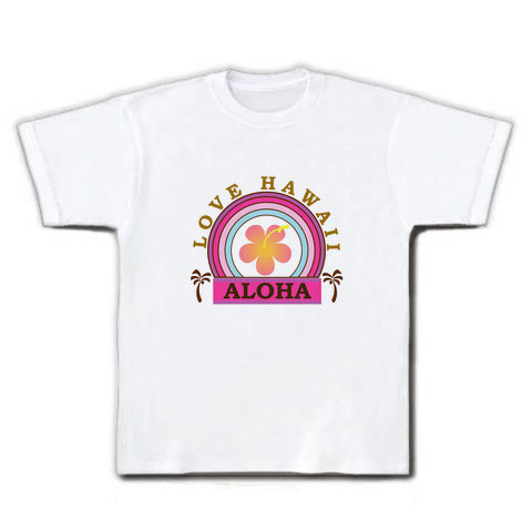 LOVE HAWAII Tシャツ ホワイト