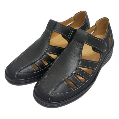 2033BK レディース サンダル 革靴 一般在庫