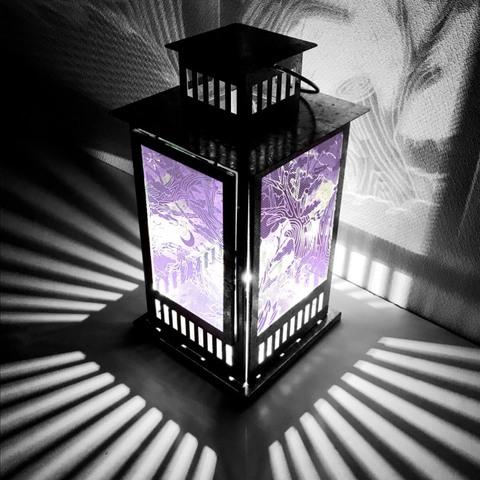 Shadowmoon Lamp 【Feint Purple】