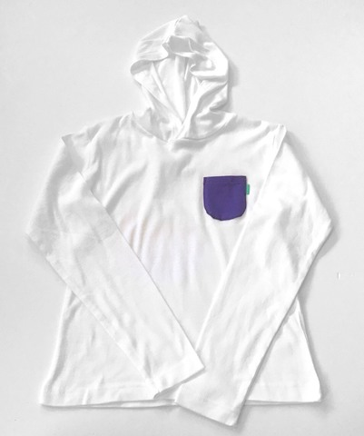 Piece Name POCKET Long Sleeve【WHITE】