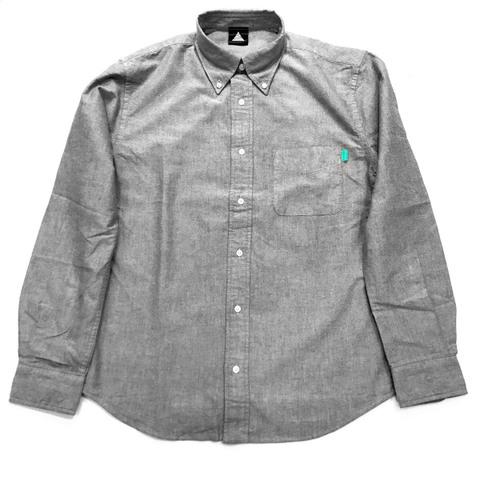 Piece Nametag Shirt【GRAY】