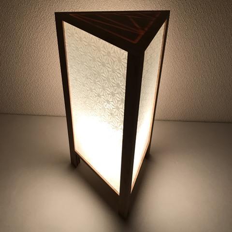 ALTAIR TRIANGLE Lamp 【麻の葉】