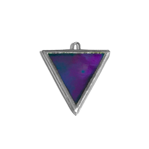 【8/2②】CLEAR PURPLE Iridesento TRIANGLE