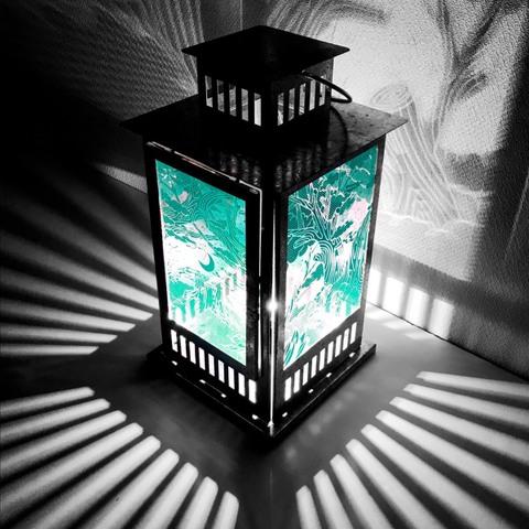 Shadowmoon Lamp 【Emerald Green】