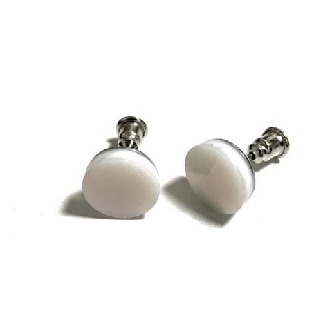Perfume pierced earrings 【Snow iridesento】