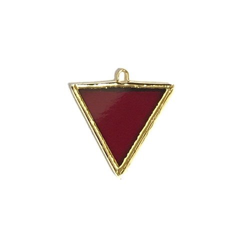 【1/1】Garnet TRIANGLE 【GOLD】