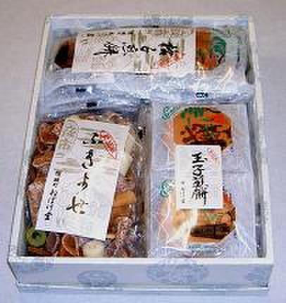 詰合せ(格子煎餅・ふきよせ・玉子煎餅)
