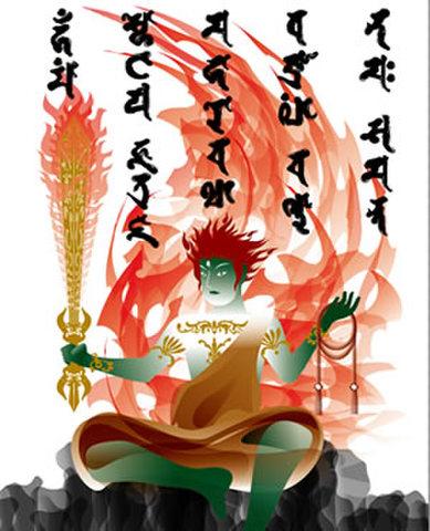 不動明王/A4