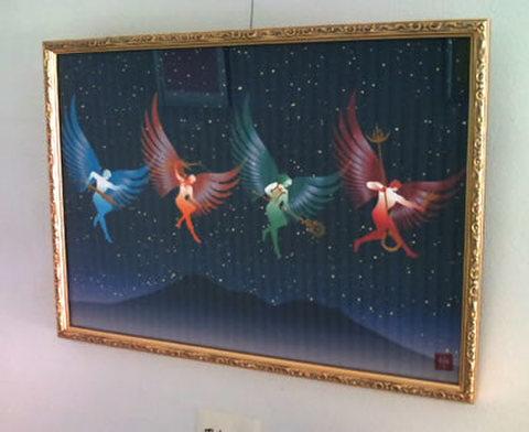 あなたを守護する 四大天使図/A3