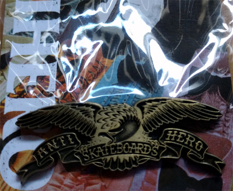 ANTIHERO EAGLE	Lapel Pin	(ANTIQUE BRONZE)