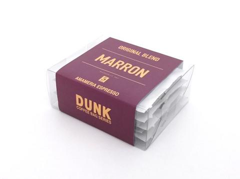 ダンクコーヒーバッグ ブレンド・マロン(5個入りパック)