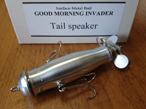 GOOD MORNING INVADER グッドモーニングインベーダー「TAIL SPEAKER」