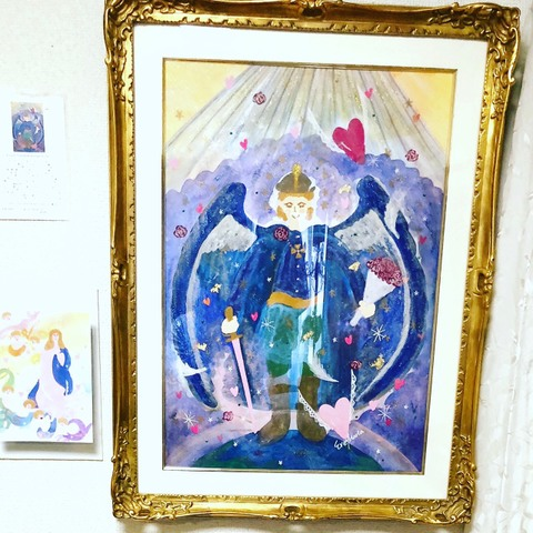 *Angelic Protection* Archangel Michael*(原画)