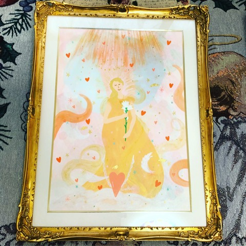 *Angelic Communication* Archangel Gabriel*(原画)