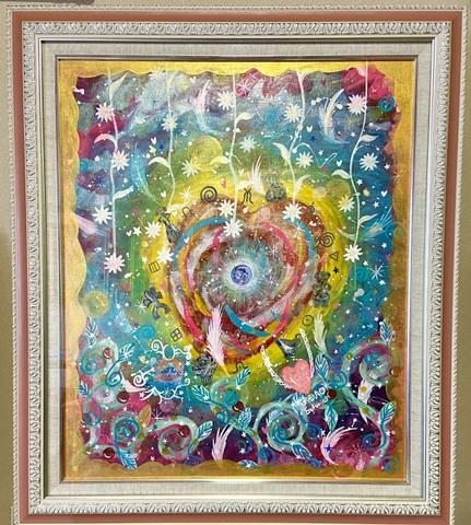 *愛の星地球*(原画)(Sold Out)