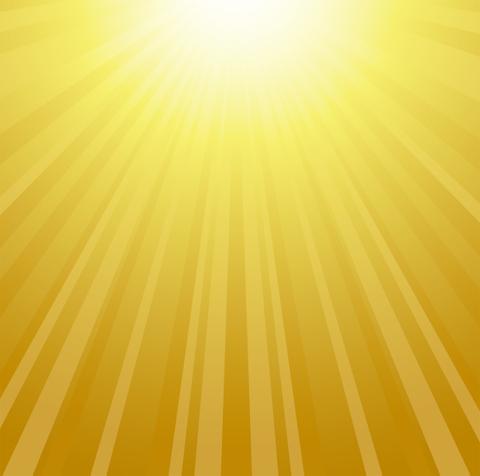 豊穣の黄金光線
