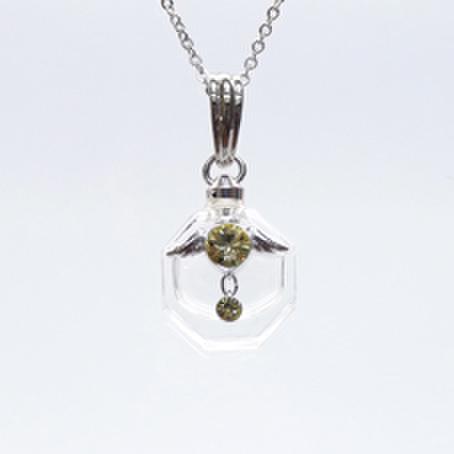 アロマペンダント☆フォル・ド・アンジュ―天使の小瓶★第3チャクラ ウリエル