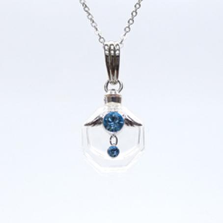 アロマペンダント☆フォル・ド・アンジュ―天使の小瓶★第5チャクラ ハニエル