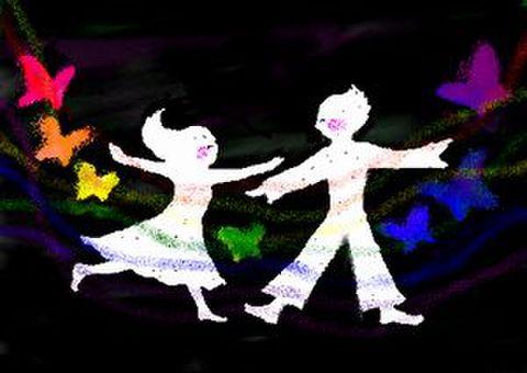 いっしょに踊ろ♪