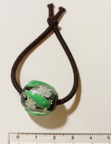 とんぼ玉ヘアゴムH-L-5