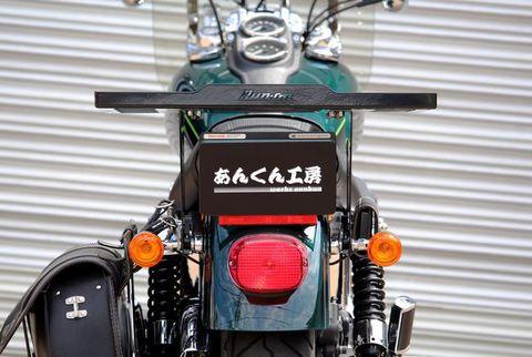 ダイナ       タンデムシート    ソロ用      ブラック      Mサイズ     [DY-MTG-001]