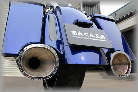 Run-On exhaust system          FLH-CVO用  [CVO-MF-001]