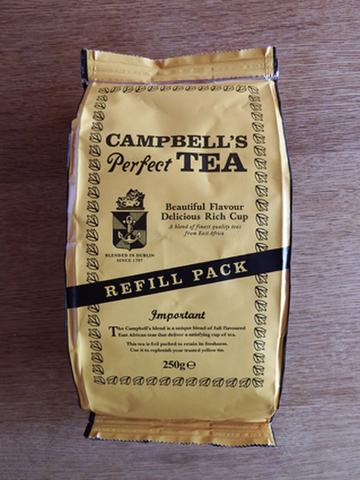 キャンベルズパーフェクトティー詰め替え用 Campbell's Perfect Tea Refill Pack
