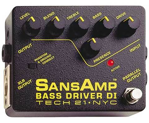 TECH21 SANSAMP BASSDRIVER DI