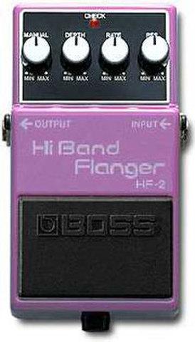 BOSS HiBandFlanger HF-2