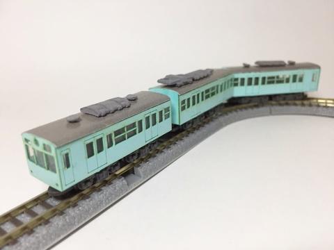 ぷるでん 通勤電車(冷房パーツ付)