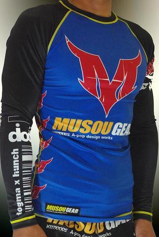 MUSOU×A-pop Long sleeve Rashguard