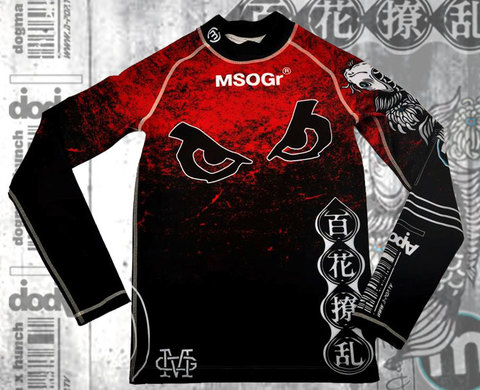 "MSOGr x Bad Boy Long Sleeve Rashguard ""Limited edition"""