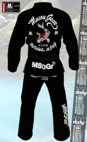 MSOGr Jiu-Jitsu Gi #02 Black
