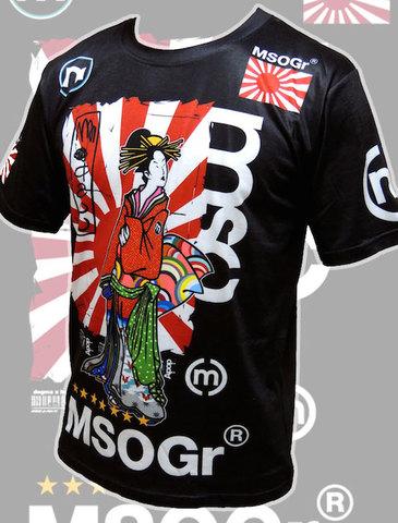 MSOGr x a-pop Geisha T-shirt / Half sleeve