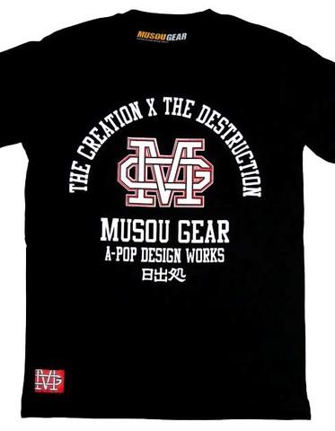 """MUSOU×A-pop T-shirt """"CxD"""""""