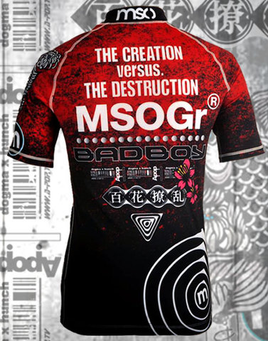 "MSOGr x Bad Boy Short Sleeve Rashguard ""Limited edition"""