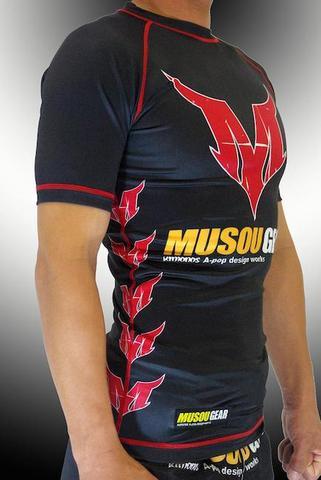 MUSOU×A-pop Half sleeve Rashguard