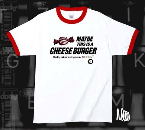MAYBE / リンガーT-shirt