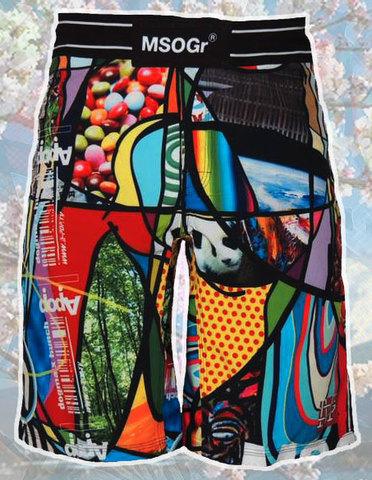 "Musou Board Shorts ""mg+ap=(a+f)p"""