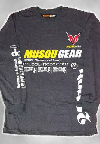 MUSOU×A-pop long sleeve T-shirt #01