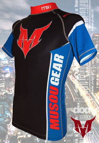 Musou gear short sleeve Rash guard #03