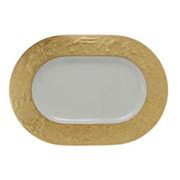 プレート(ゴールド)楕円形皿