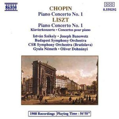 Chopin;Piano Conc.No.1 形式: CD