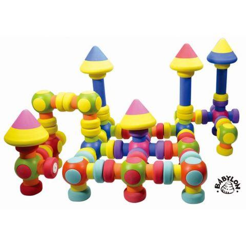 幼稚園・保育園向け知育玩具「磁石でピタッと!やわらかつみき」3歳~