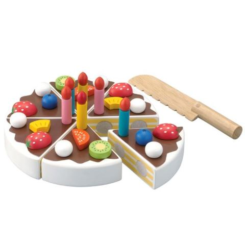 森の遊び道具「たのしいケーキ職人」3歳~