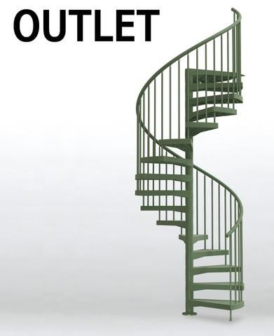 《OUTLET》TECHNEテクネ 直径163㎝ 屋内外用螺旋階段